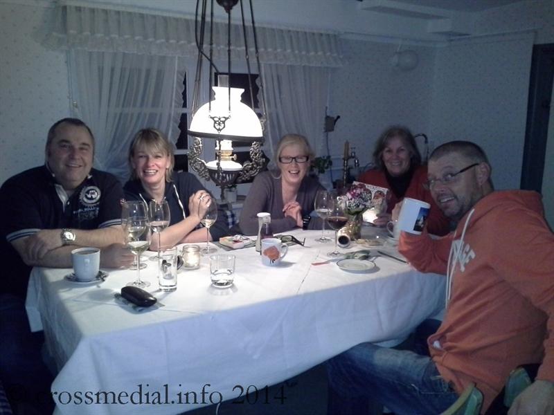 Ein Winterabend im Friesenhaus Sander ganz nach dem Geschmack der Gastgeberin Anne Sander